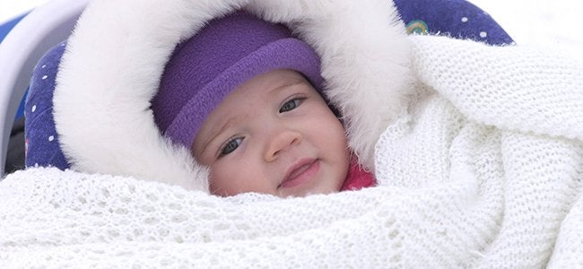 Keeping your baby warm in winter