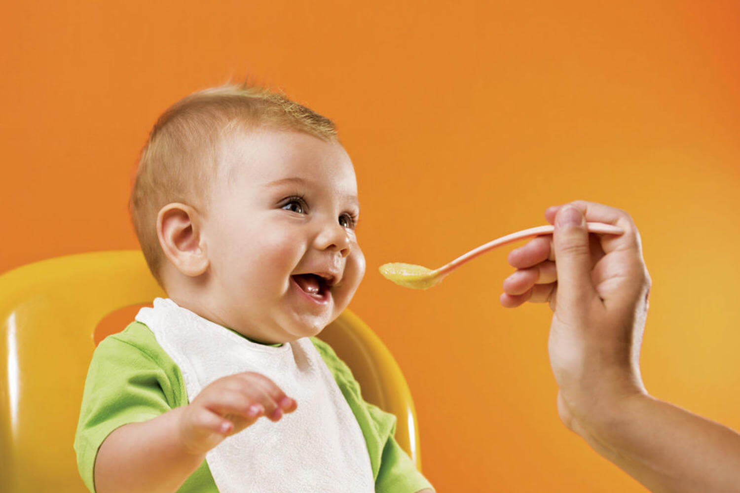 make sure your baby has a good relationship with food