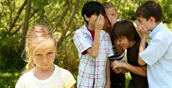 children getting bullied