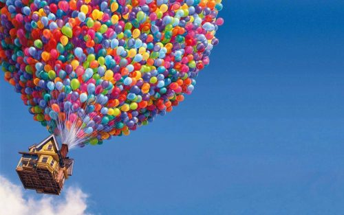 balloons from pixar film