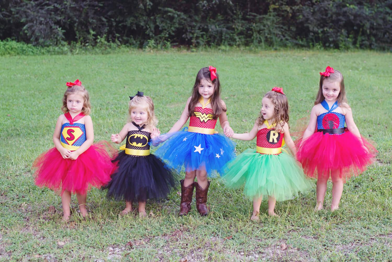 Tjejer är superhjältar