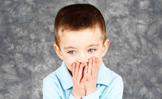 Boy who has selective mutism