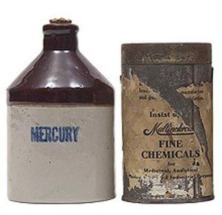 mercury as an unusual contraceptive