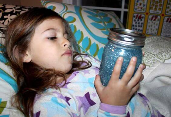 I want a calm jar for my child!