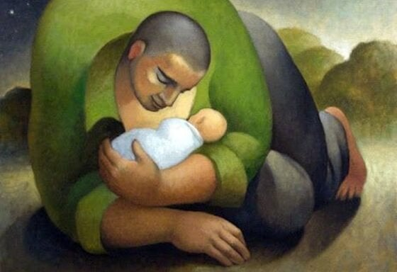 Father-present-with-child