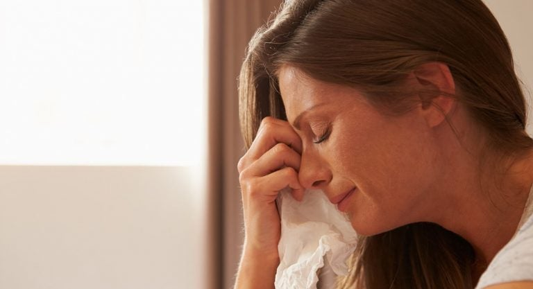 Even Mothers Cry about Exhaustion, Stress and Fear