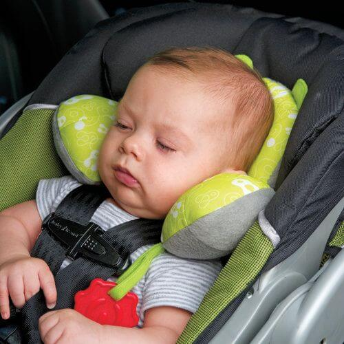 Car seat safety: Never leave your child sleeping in a car seat