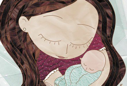 drawing on preparing for motherhood