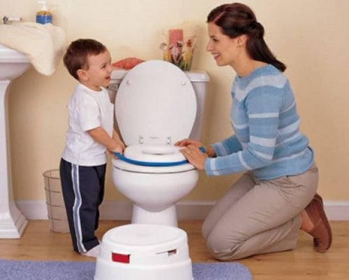 potty train your child.