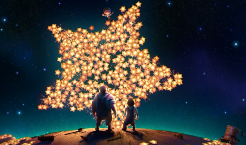 "still from ""The Moon"" by Pixar"