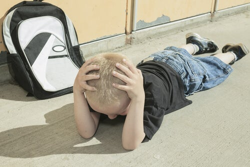 A child's headaches can be caused by stress in school.