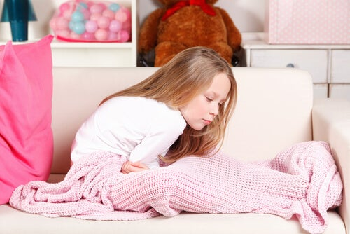 Hiccups, fever and vomiting in children