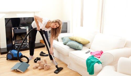 how to deal with a messy house