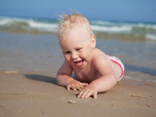 Your baby is 8 months old! Time to explore!