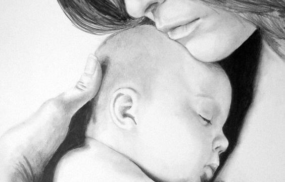 Why Your Baby Should Be In Your Arms