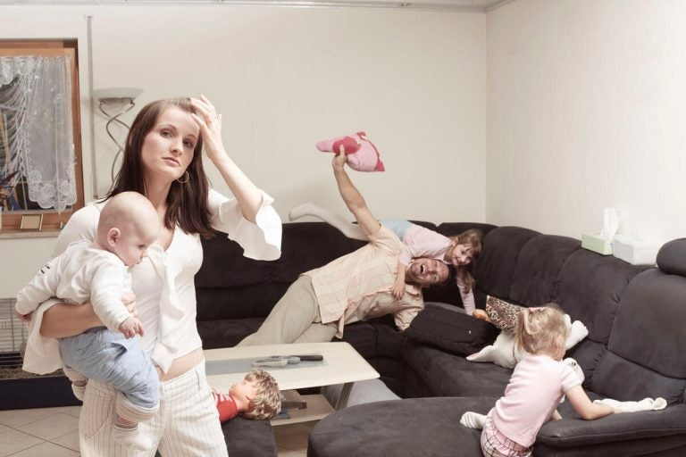 Why Are Mothers More Stressed Than Fathers