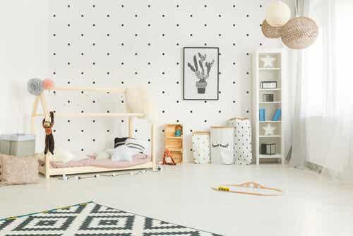 The Montessori Method for Decorating a Child's Room