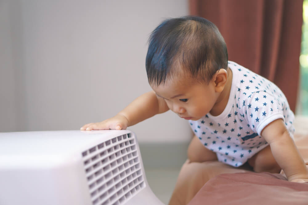 Using Air Conditioning When You Have a Baby