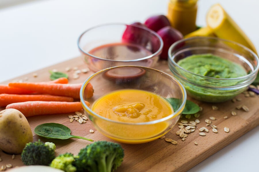 3 High Protein Purees for Kids