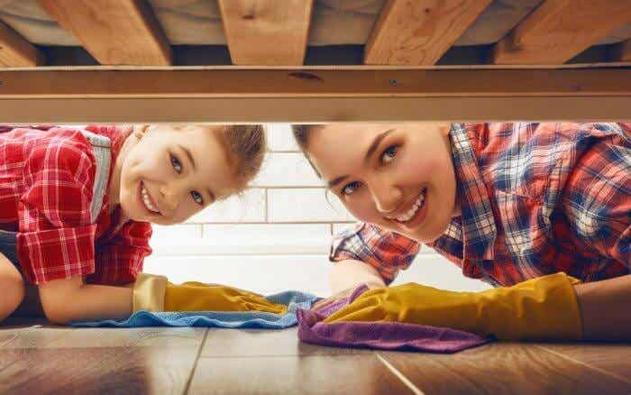 Appropriate Chores for Children, According to Their Age