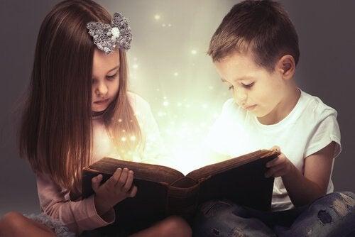 Buddhist stories tell children great messages.