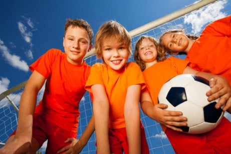 Sports Encourage Teamwork in Children