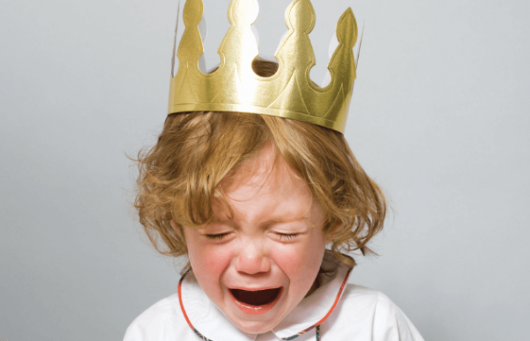 The Reasons Why Children Throw Tantrums