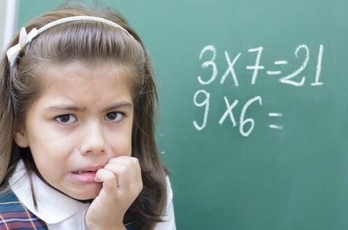 Mathematical Anxiety in Children