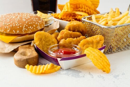 Junk food raises bad cholesterol levels.