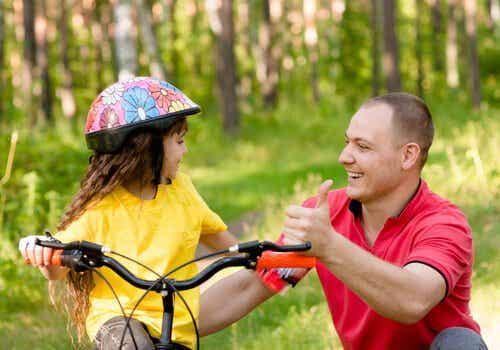 Teaching Children How to Ride a Bike