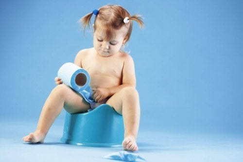 All children start potty training and leaving their diapers behind at different ages.