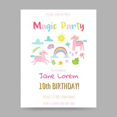 5 Ideas for Your Child's Birthday Party Invitations
