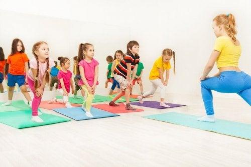 The Benefits of Aerobics for Children