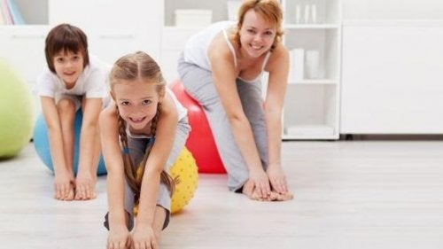 Aerobics for Children: The Perfect Workout