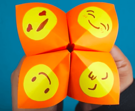 Cootie Catchers for Emotions