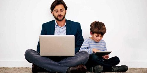 Technological Parents and Technological Children