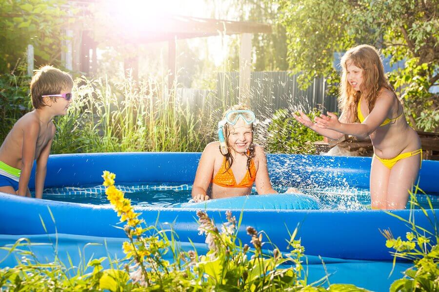 Inflatable Pools for Families in the Summer
