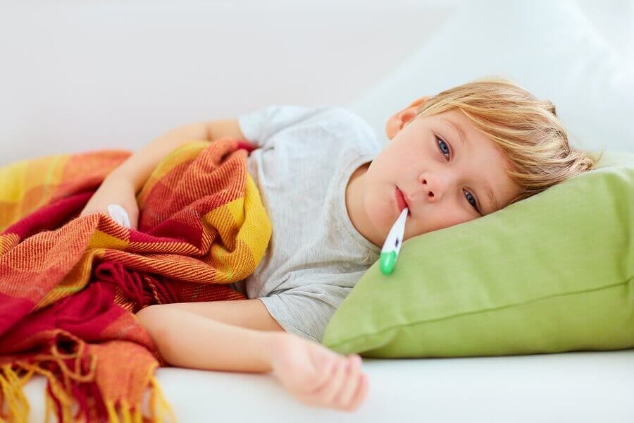 Fever Accompanied by Drowsiness in Children