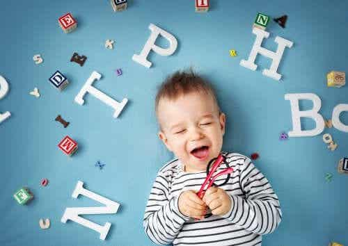 The Development of Language in Babies