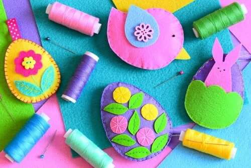 3 Great Crafts with Felt to Make with Your Children