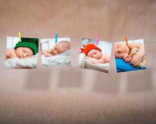 Seven Original Birth Announcement Photo Ideas