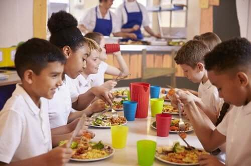 All About Nutrition and School Cafeteria Food