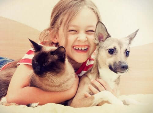 The Benefits of Growing Up with a Pet