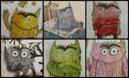 """""""The Color Monster"""" – 3 Lessons for Kids"""
