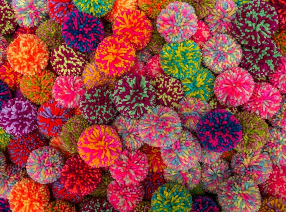 Crafts Your Children Can Make Using Pom-Poms