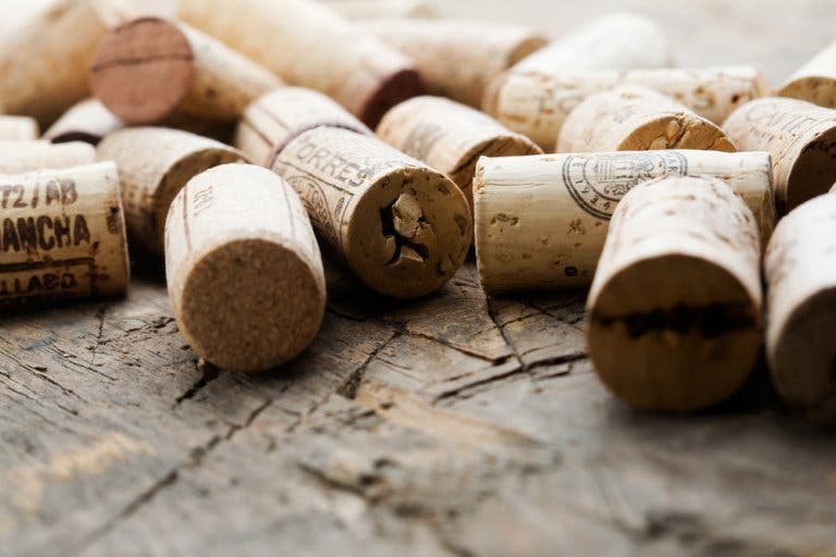 Some corks.