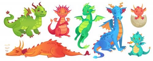Dragon Books for Children