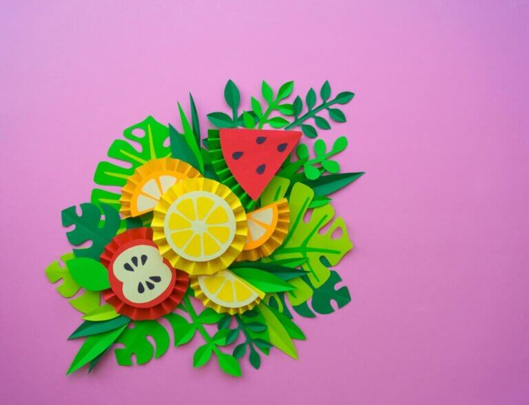 Fruit Crafts to Raise Children's Awareness