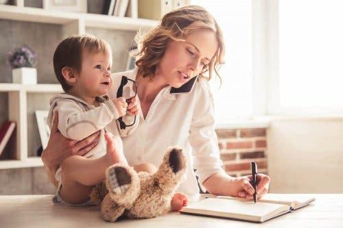 Dealing with the Demands of Motherhood
