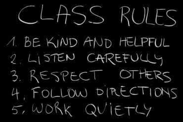 How to Create and Reinforce Classroom Rules